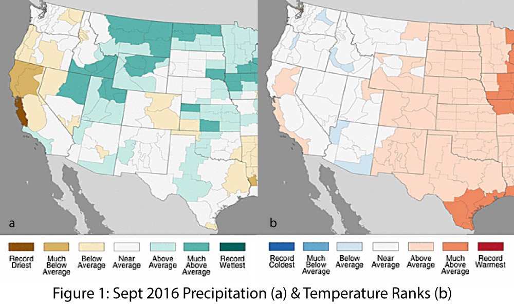 October Precipitation To Date Has Been Below Average Across Most Of The Region Fig 2 Although October Is One Of The Drier Months In The Southwest